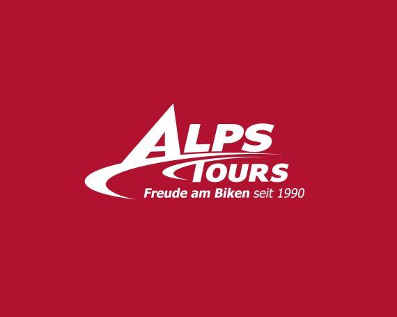 AlpsTours Business Card / Logo