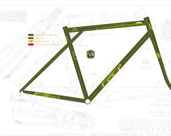GT / W4L Bike Graphic