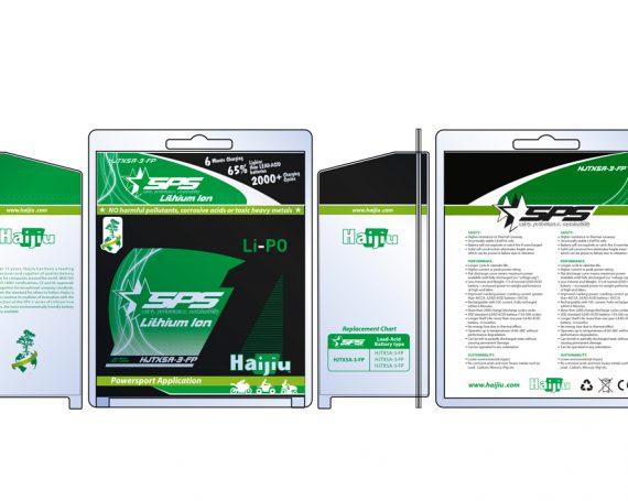 Battery Packaging for Haijiu