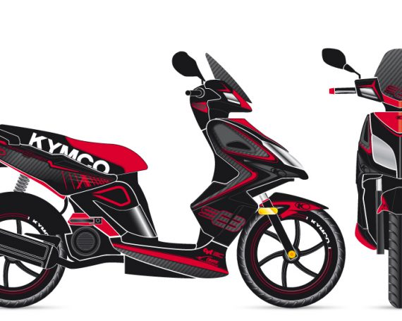 Kymco Super 8 Graphic Concepts