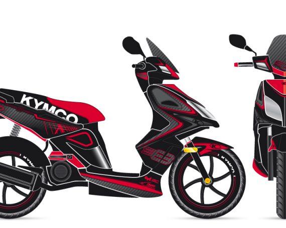 Kymco Super 8 Graphic Concepts