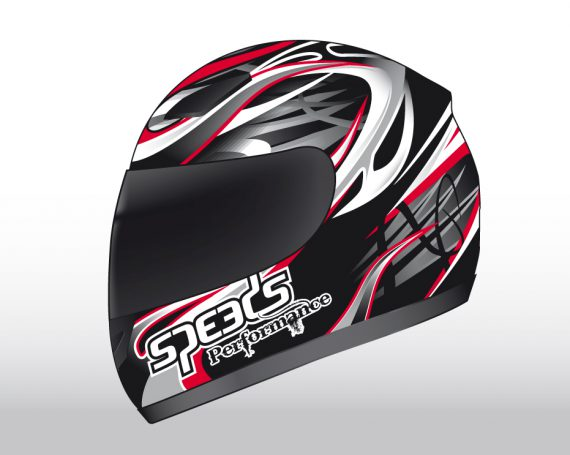Speeds Perfomance II Helmet Graphic