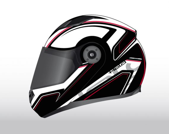 Held Touring Helmet Graphic