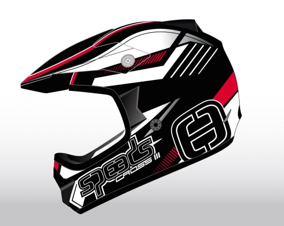 Speeds Cross III Helmet Graphic