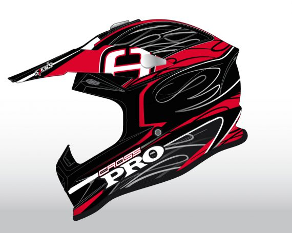 Speeds Super Cross Helmet Graphic