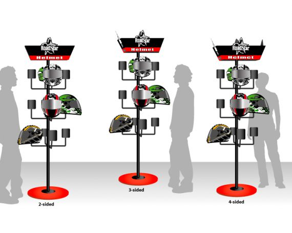 POP Display Concept for RoadStar Helmets